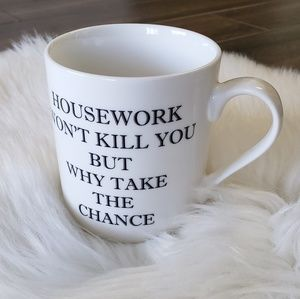 B2G1 NEW Funny Wife Housework Porcelain Coffee Mug